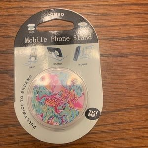 Accessories - Flamingos Pop Socket Phone Accessory